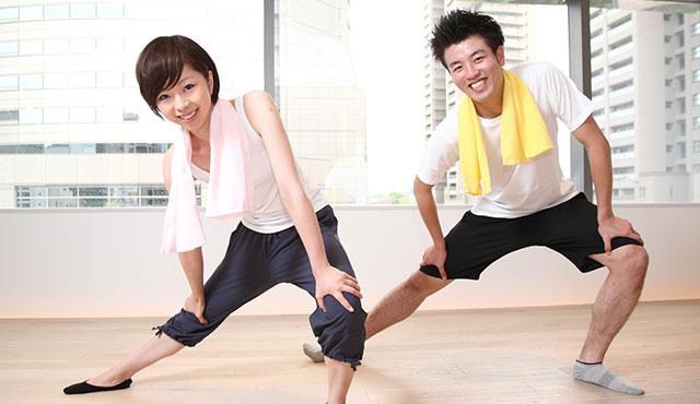 スポーツの秋スペシャル!健康ストレッチとリズムトレーニングのイメージ