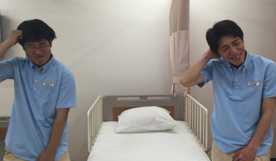 ベッドメイク3